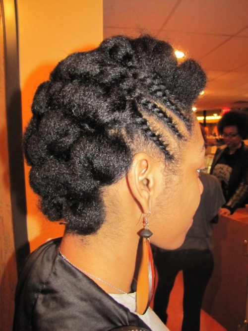 Natural Cornrow Hairstyles Black Women