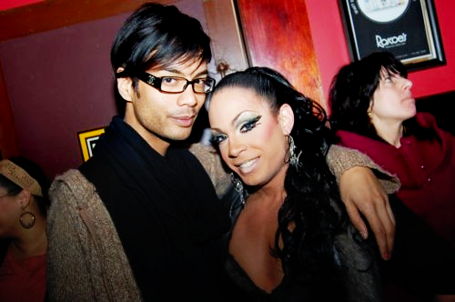 Sutan with Jade Sotomayor from Season 1