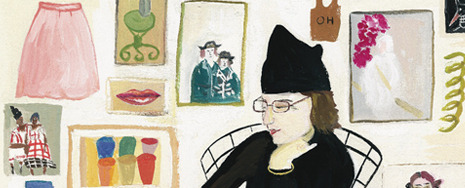 Welcome to the first museum survey of Maira Kalman's narrative art. Working as an illustrator, author, and designer, Kalman illuminates contemporary life with a profound sense of joy and a unique sense of humor. (via The Jewish Museum - Special Exhibition - Maira Kalman: Various Illuminations (of a Crazy World)) I'm so there.