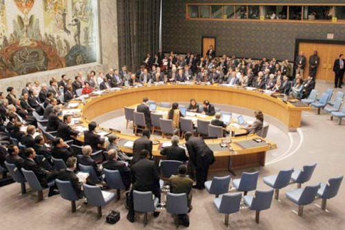 UN could be hours from vote on Libyan no-fly zone A critical few hours for Libya: The U.N. Security Council will be meeting (Britain claims at 22:00 GMT, which is a little over two hours from now) to consider a resolution approving the imposition of a no-fly zone over Libya. The resolution was drafted by, and therefore obviously receives strong support from the U.K., Lebanon, and France. The U.S. has spoken in support of the measure, hinged on a reluctance to act unilaterally, but China and Russia might not be so keen. It should make for a fascinating scene that will critically change the future of the Libyan people. source Follow ShortFormBlog