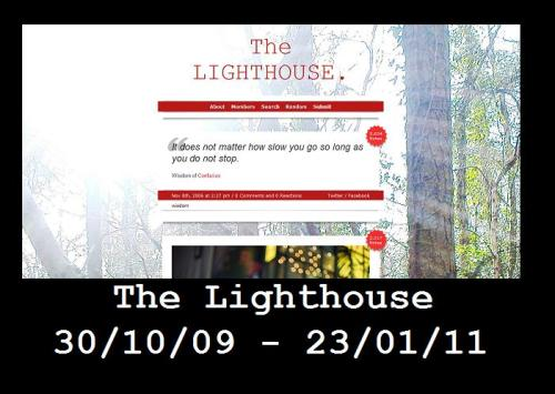 The Lighthouse has become Flapjackstate. This is run by the same person but without repeating the same mistakes.