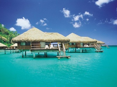 sunsurfer:  Turquoise Paradise, Tahiti, French Polynesia photo from danis