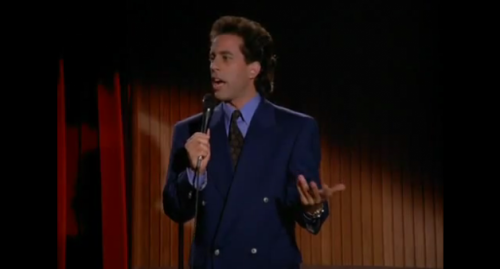 hysterical. night guy/morning guy bit by seinfeld. this is exactly how i feel! [video]