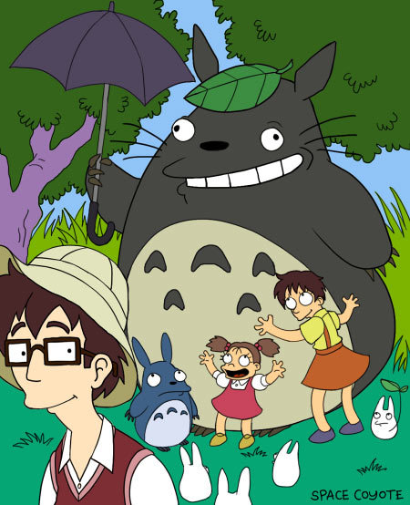 My Dysfunctional Neighbour Totoro (artwork by space coyote)