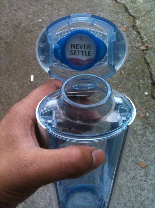 All water bottles should have this.