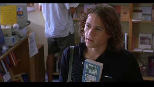 bohemea:  Heath Ledger in 10 Things I Hate About You  In love.