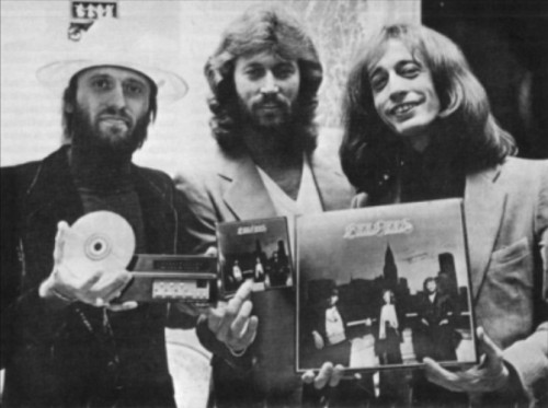 beegees:  Living Eyes was the first ever pop album to be released on CD!