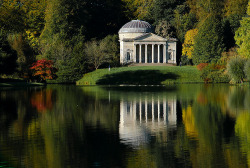 boardtheplane:  Pantheon, Stourhead, Warminster, UK