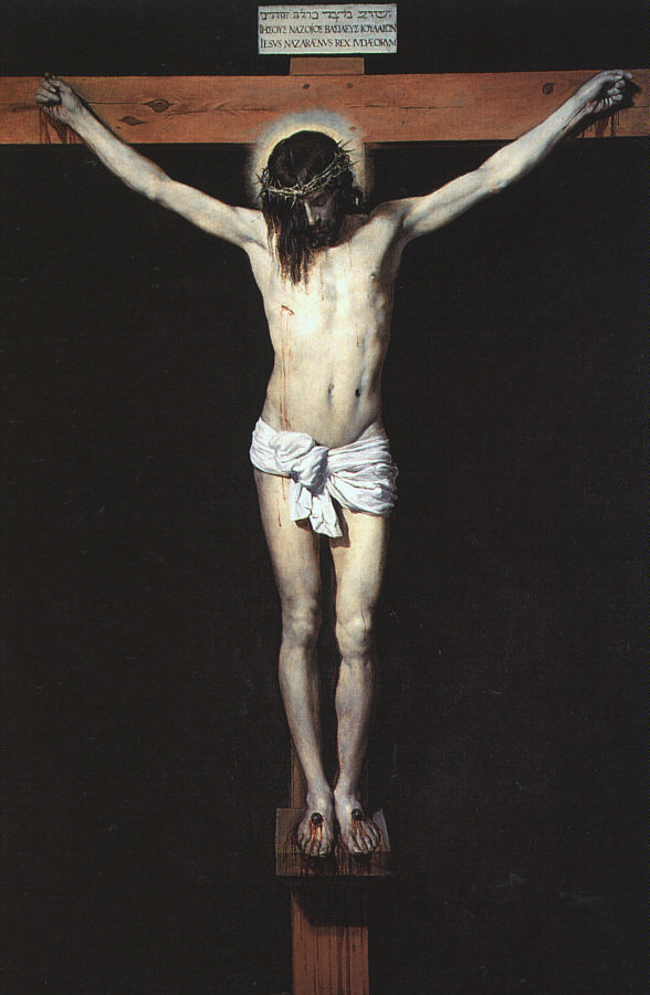 cavetocanvas:  Christ on the Cross - Diego Velázquez, 1632
