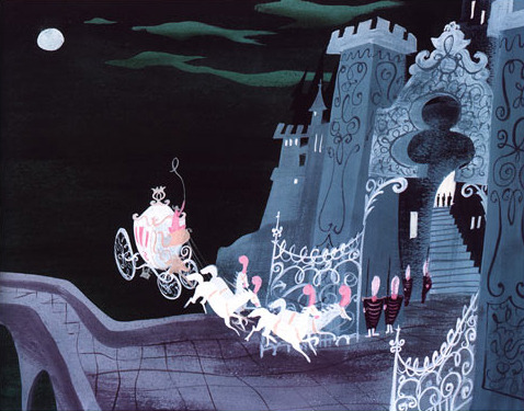 + Cinderella (1950) concept art by Mary Blair