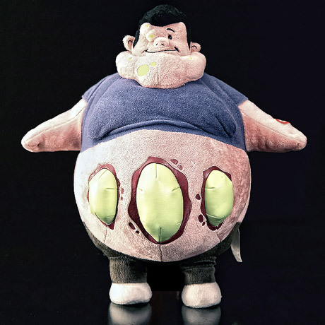 this is the cutest gross thing i've ever seen.  omg i need this boomer plushie!!! there's also a hunter and the tank!  if you don't know left 4 dead, you have no idea what i'm talking about but trust me, this is awesome.