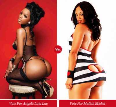 femalerappers:  Click the picture to vote for Lola Monroe in XXL's The Baddest Chick In The Game Tournament