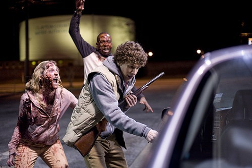 "DAY 03: A MOVIE THAT MAKES YOU REALLY HAPPY ZOMBIELAND ""Rule #1: CARDIO""  An amazing combination of horror and comedy!"