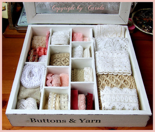 I have a box just like this. :) now I know what to put in it