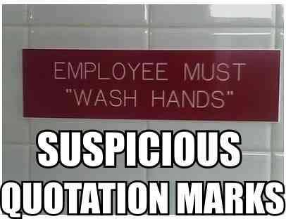 "employees must ""wash hands"""