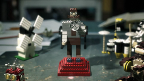 """The Brick Thief"" - cute spot for LEGO by a52."