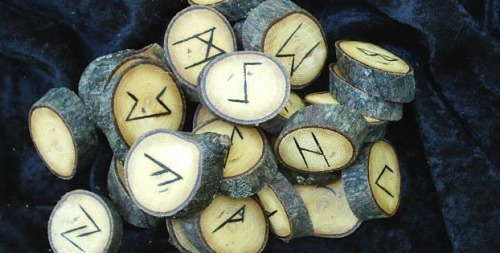 "There is some evidence that in addition to being a writing system runes historically served purposes of magic . This is the case from earliest epigraphic evidence of the Roman to Germanic Iron Age, with non-linguistic inscriptions and the alu word. An erilaz appears to have been a person versed in runes, including their magic applications. In medieval sources, notably the Poetic Edda, the Sigrdrífumál mentions ""victory runes"" to be carved on a sword, ""some on the grasp and some on the inlay, and name Tyr twice."" In early modern and modern times, related folklore and superstition is recorded in the form of the Icelandic magical staves. In the early 20th century, Germanic mysticism coins new forms of ""runic magic"", some of which were continued or developed further by contemporary adherents of Germanic Neopaganism. Modern systems of runic divination are based on Hermeticism, classical Occultism, and the I Ching."