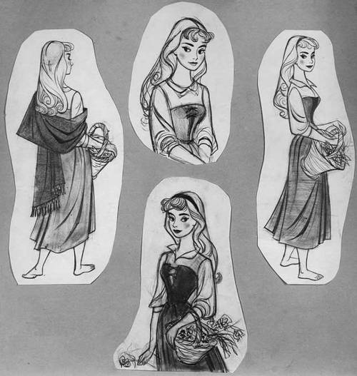 Disney: Model Sheet, Sleeping Beauty