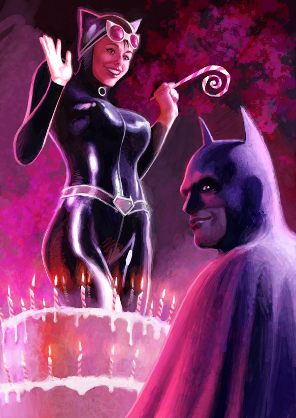 8bitmonkey:  Bats doesn't smile to often if at all. Bat-Birthday by ~Mancomb-Seepwood