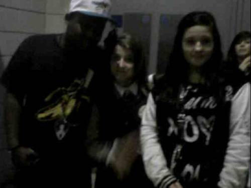 Me&Courtney& Justin Biebers DJ.. DJ Tay James..