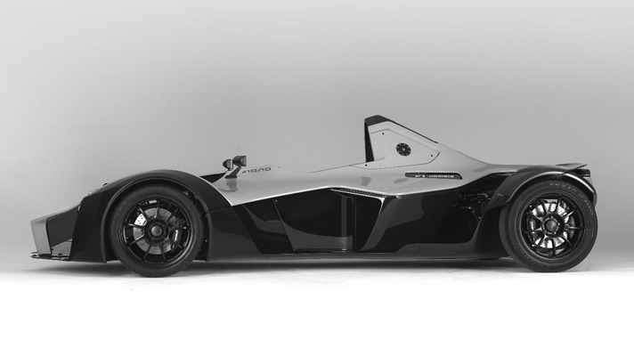 Bac Mono. If your father didn't force you into a go-kart when you were 7, and you didn't end up in F1, do not despair. This British single-seater will give you all the thrills while still road-legal. Meet your 280bhp, 2.8sec-to-60, 170mph man-child dream on four wheels.