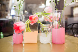 soulsdontdie:  Pretty DIY Painted Glass