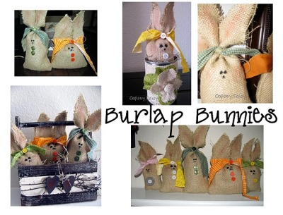 (via Oopsey Daisy: Burlap Bunnies {With Tutorial})