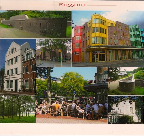 Postcard - Bussum, Netherlands. Received via Postcrossing!