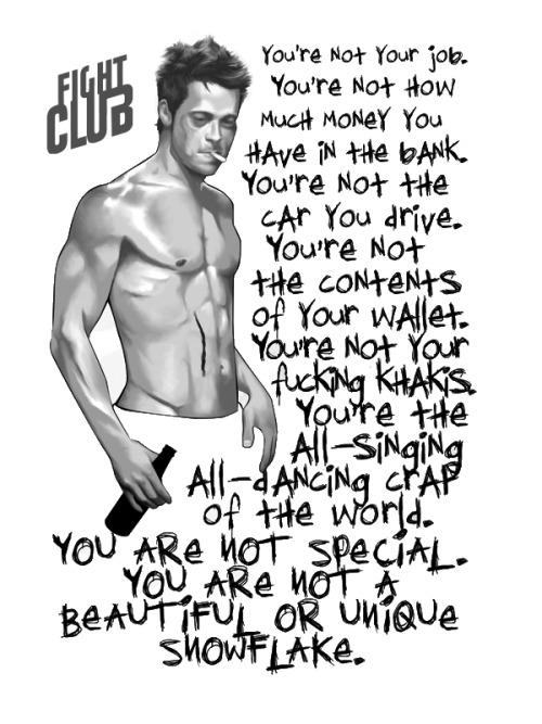 Tyler Durden art by Unknown Thanks to Bifrost