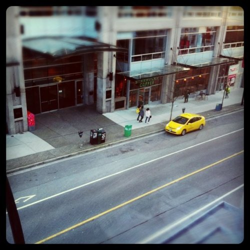 Yellow Cab (Taken with Instagram at Left Right Minds)