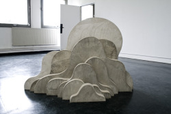 SCULPTURE: Cloud - Reinforced Concrete - 2009 - by Lukas Richarz upcycled via cartwheelgalaxy