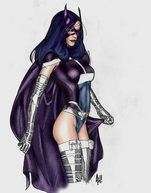 thehappysorceress:  Huntress by Adam Hughes