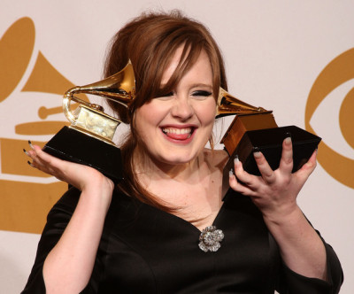 Hell yeah Adele. I love you. I hope to be half as awesome as she is one day. Most beautiful voice.