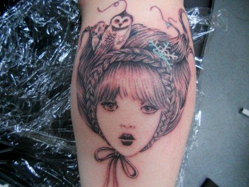 Love And Evil Tattoo. tattoo death tattoos love life