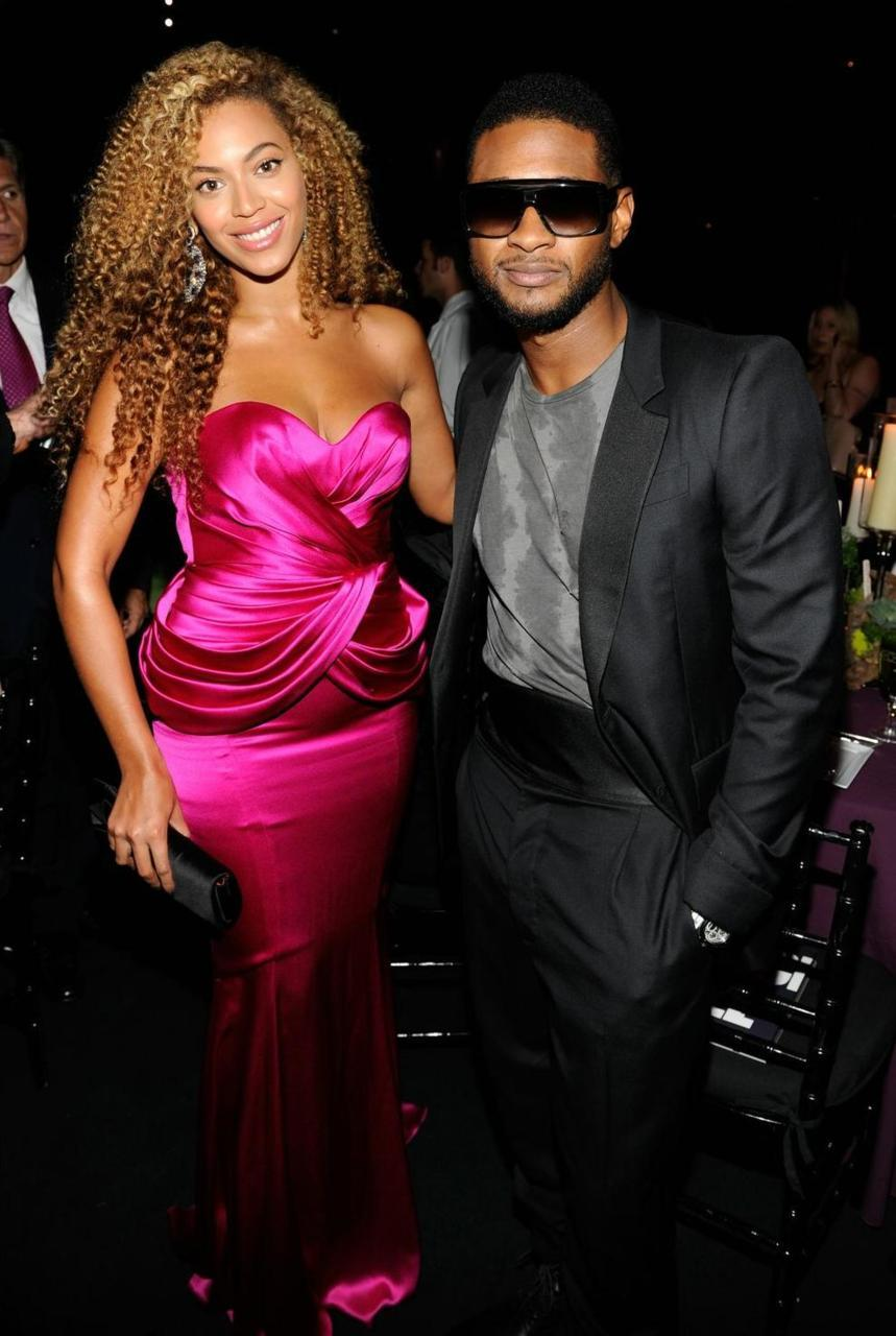 Beyonce&Usher Alicia Key's 'Keep A Child Alive' ball