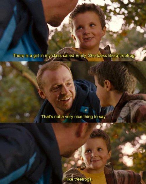awwwwwww .. sweet little boy! :]