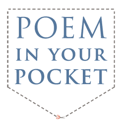"Poem in your Pocket Day April14, 2011! I never heard of Poem in your Pocket Day before. The idea is to choose a poem that you love, carry it in your pocket, and share it all day long with others. What a terrific idea! I can't wait to get started on making it a special day at my school. Below are some ideas from Poets.org.  *They are looking for more ideas, so if you have them, let them know so they can share yours on the site.   Start a ""poems for pockets"" give-a-way in your school or workplace Urge local businesses to offer discounts for those carrying poems Post pocket-sized verses in public places Handwrite some lines on the back of your business cards Start a street team to pass out poems in your community Distribute bookmarks with your favorite immortal lines Add a poem to your email footer Post a poem on your blog or social networking page Project a poem on a wall, inside or out Text a poem to friends **April is also, of course, National Poetry Month. You can find lots of great resources in my Kool Kids Write Poetry LiveBinder. ***I will be adding more resources to this binder over the next couple of weeks so check back often. If you have anything you would like me to put in it to share with others, such as a website, a blog post, resource list, great poems for kids, etc. just let me know. Thanks….Karen Thanks to @MrSchuReads for bringing Poem in your Pocket Day to my attention."