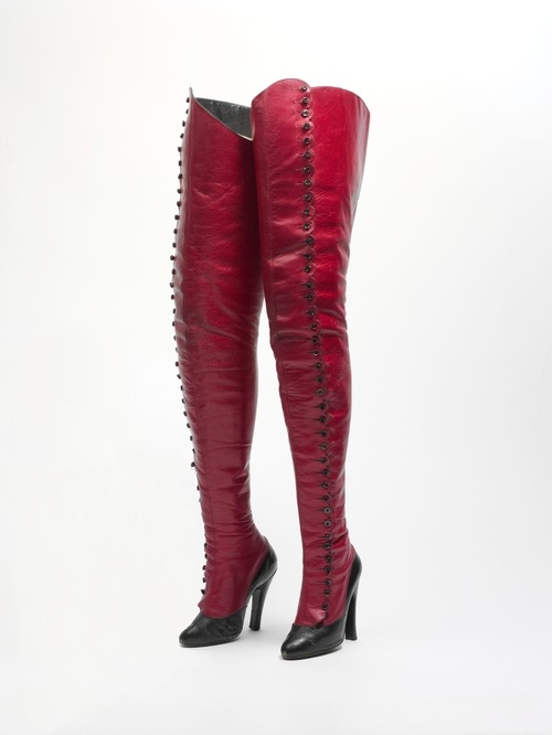 Fetish boots ca. 1900-1920 via The Costume Institute of the Metropolitan Museum of Art