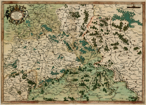Gerardus Mercator, 1595, Germany