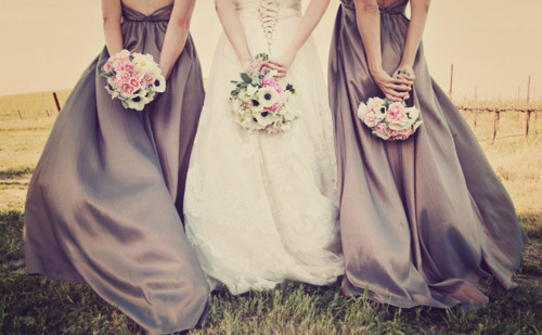 I love these bridesmaid dresses