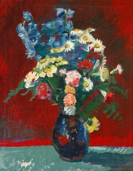 stilllifequickheart:  Jan Wiegers Summer Bouquet 1941