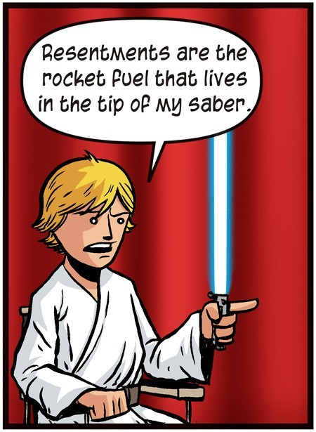 Charlie Sheen Quotes Presented By Superheroes - Luke Skywalker