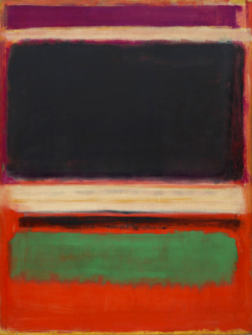 bruan:  No. 3/No. 13 (1949) by Mark Rothko