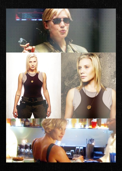 malicat:  Kara Thrace or John Crichton (asked on LJ)