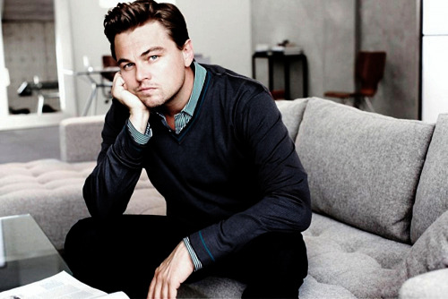 fuckyeahcuteactors:  Leonardo Dicaprio  Aptly reblogged. Just watched Titanic tonight with the roomies, a night in. Cue me bawling for the past two hours and then us making jokes about how sexually charged the entire movie is, and that was my night in a nutshell. Then I come across this picture of Leo and remember why he was my first celebrity crush.