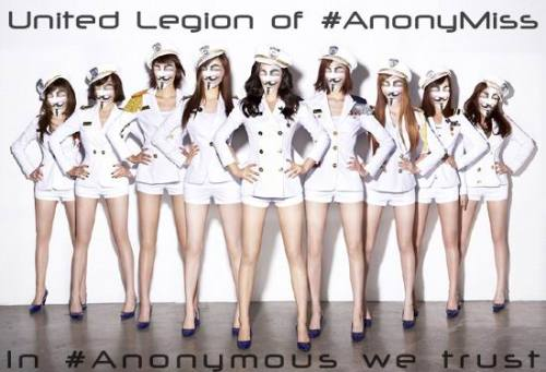 United Legion of #AnonyMissIn #Anonymous we trust.