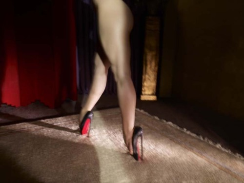 Fetish - Collaborative project by David Lynch and Christian Louboutin (Also)