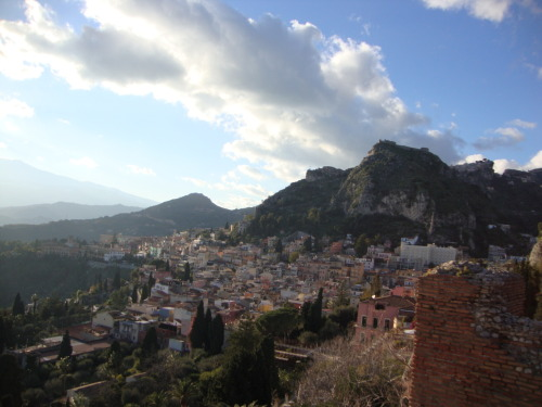 Taormina, Sicily. (taken by me) submitted by: http://concetta.tumblr.com, thanks!