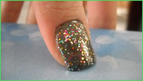 Revlon- Stormy Hot Topic- Multi-colored sparkles