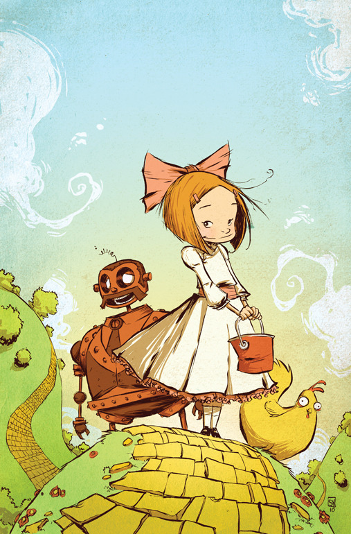 Ozma of Oz 1 by Skottie Young